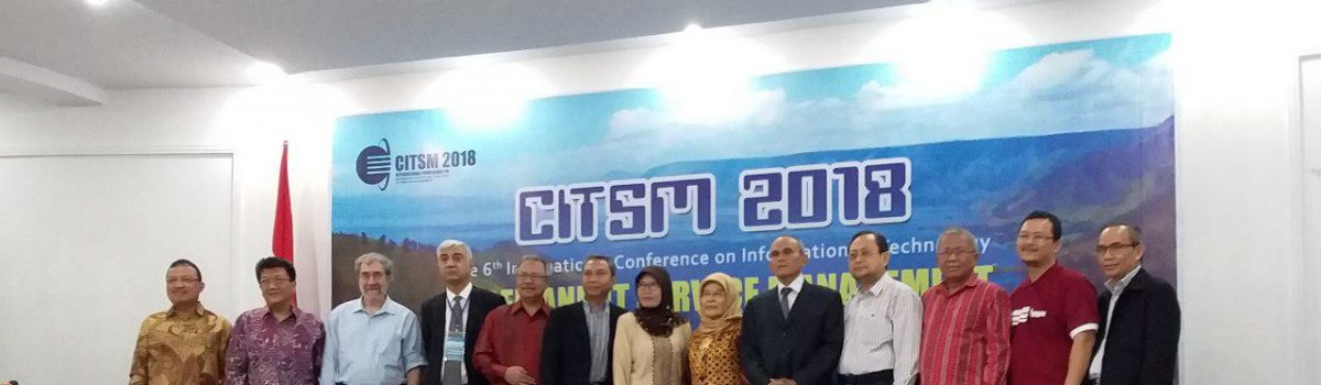 UPU MENYELENGGARAKAN INTERNATIONAL CONFERENCE CITSM 2018